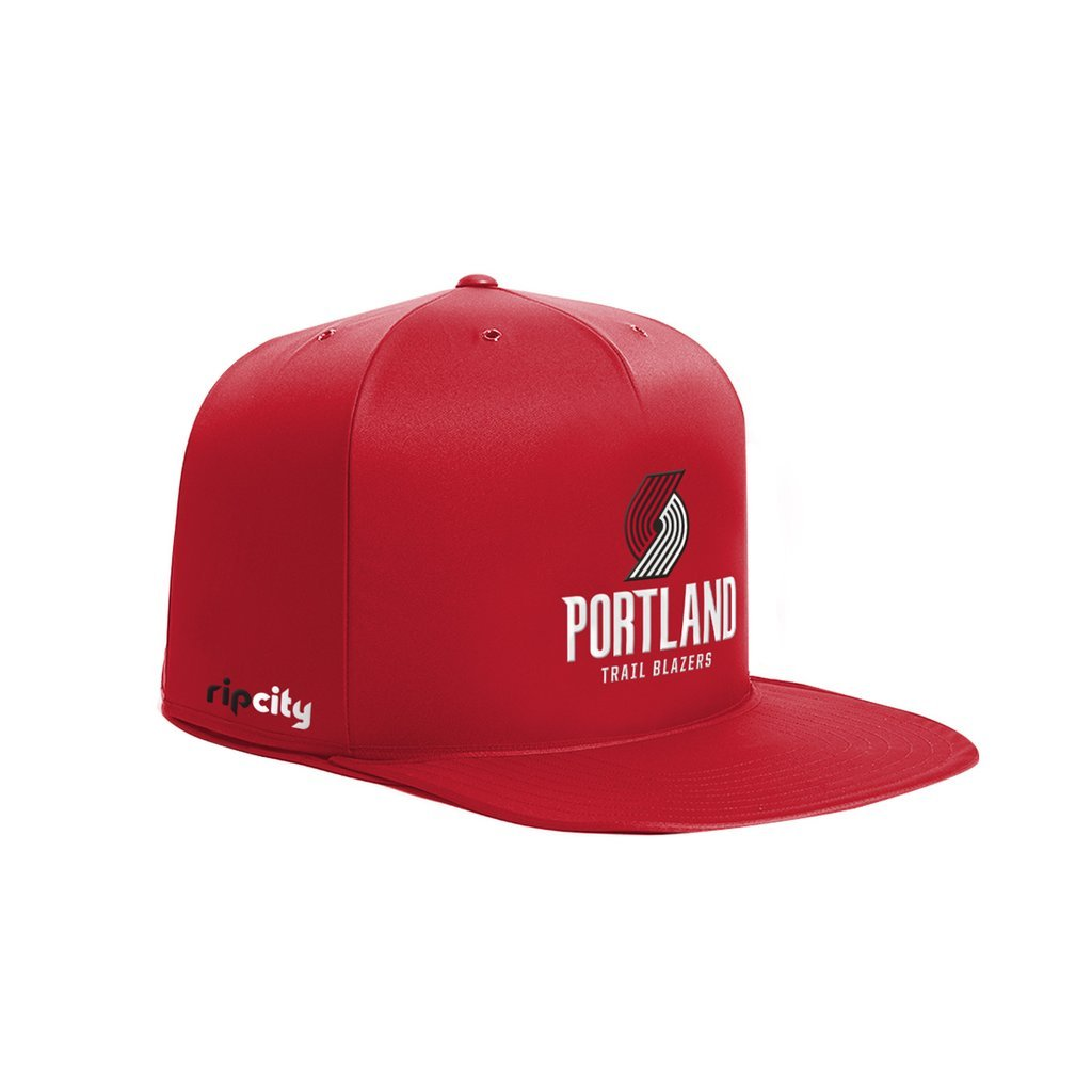 NBA Portland Trail Blazers NAP CAP Pet Bed, Red, Small