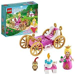 LEGO Disney Princess La Carrozza Reale di Aurora Set di Costruzioni Ricco di Dettagli con la Bella Minidoll della…  LEGO