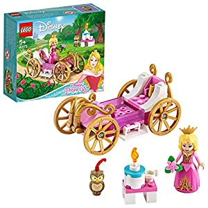 LEGO DisneyPrincess LaCarrozzaRealediAurora, Playset Giocattolo della Bella Addormentata, 43173  LEGO
