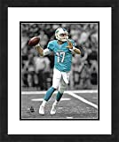 "NFL Miami Dolphins Ryan Tannehill, Beautifully Framed and Double Matted, 18"" x 22"" Sports Photograph"