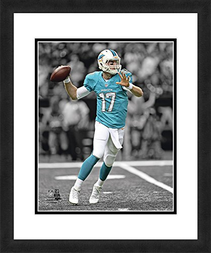 """NFL Miami Dolphins Ryan Tannehill, Beautifully Framed and Double Matted, 18"""" x 22"""" Sports (Ryan Framed Photo)"""