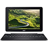 Acer S1003- Ordenador Portátil 2 en 1 Táctil (Intel Atom x5-Z8300, 2 GB RAM, eMMC 32 GB, Intel HD Graphics, Windows 10); Negro - Teclado QWERTY Español