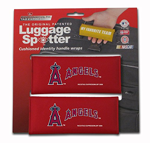 Angels Tag Luggage (ANGELS Luggage Spotter Suitcase Handle Wrap Bag Tag Locator with I.D. Pocket - CLOSEOUT! ONLY A FEW LEFT!)