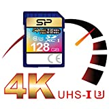 Silicon Power 128GB MLC High Endurance UHS-1 U3 Superior Pro SDXC Memory Card Up To 90MB/s (SP128GBSDXCU3V10)