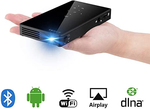 Sysmarts Mini Proyector Portátil, Android 6.0 Proyectores 8GB RAM ...