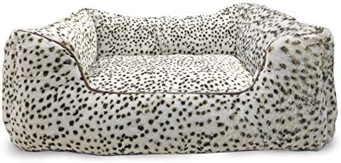 SPOT Ethical Products Sleep Zone Snow Leopard Step in Pet Bed 18