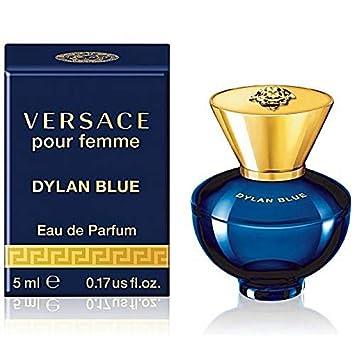 b7a3a95ac4f Amazon.com   Versace Dylan Blue Pour Femme Eau de Parfum Mini Splash ...
