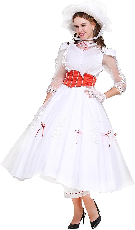CosplayDiy Disfraz de Vestido para Las Mujeres para Mary Poppins ...