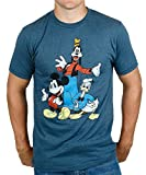 Mighty Fine mens Disney Trio Mickey Donald Goofy 3X