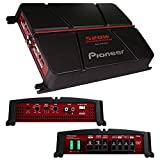 Pioneer GM-A4704 4-Channel Bridgeable Amplifier,Black/red