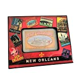 Cajun Creations New Orleans Vintage Picture Frame