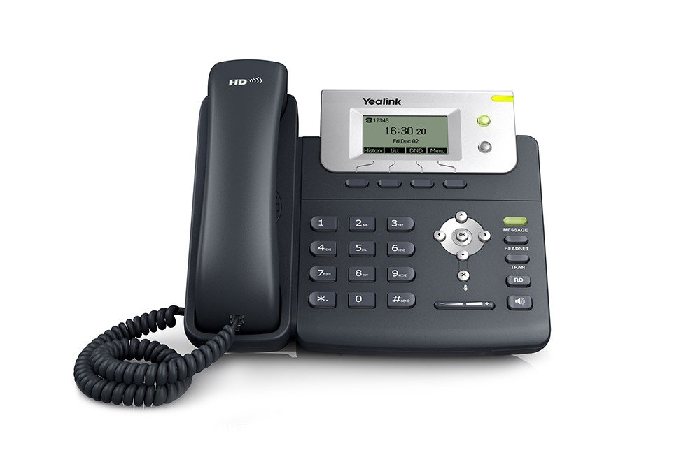 Ooma Office Provisioned Yealink Sip-T21P E2 2-Line IP Phone by ooma