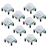 Qunqi 10pack HC-SR501 Pyroelectric Infrared PIR Motion Sensor Modules for Microcontrollers Review