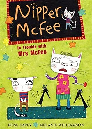 book cover of In Trouble with Mrs. McFee