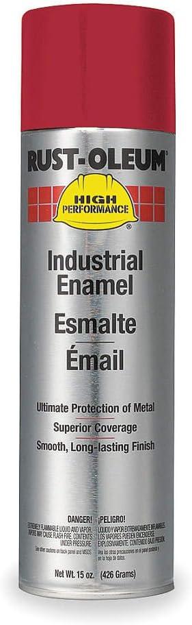 Spray Paint, International Red, 15 oz.
