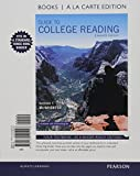 Guide to College Reading, Books a la Carte Edition Plus MyReadingLab with Pearson EText - Access Card Package 11th Edition