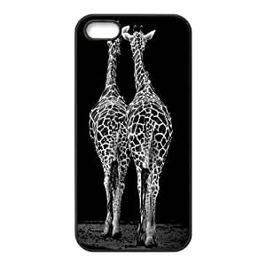 DIY Phone Case for Iphone 5,5S, Giraffe Cover Case - HL-R672720