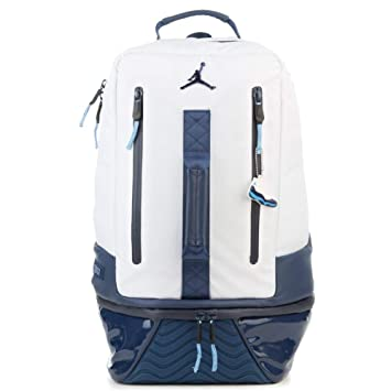 07fb697d116 Amazon.com   Nike Air Jordan Retro 11 Backpack (One Size, White/Mid Night  Navy)   Casual Daypacks