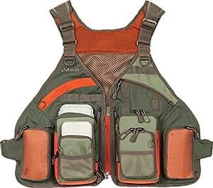 Allen company big horn fishing vest chest for Fishing vest amazon