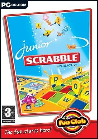 PC Fun Club: Junior SCRABBLE Interactive (PC CD)