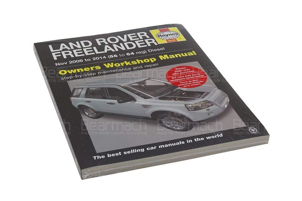 Haynes - Workshop Manual - Freelander 2 Part# BA3085B