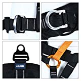 kissloves Full Body Safety Harness Outdoor Climbing