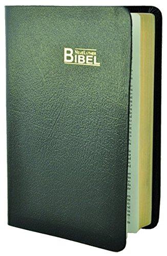 NeueLuther Bibel: Luther 2009 - Lederfaserstoff schwarz