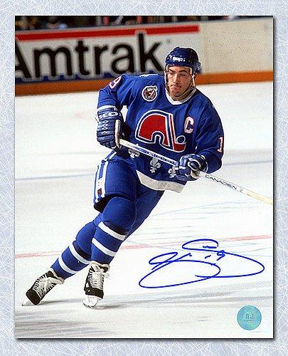 Joe Sakic Quebec Nordiques Autographed Captain 11x14 Photo - Signed ... e33f6d0e4d3