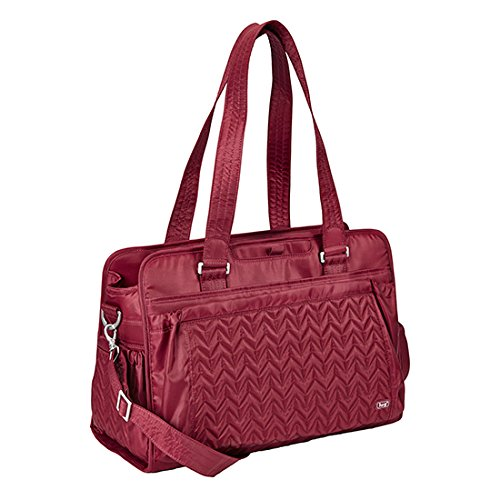 Lug Life Caboose Carry All Bag, Cranberry Red, One Size
