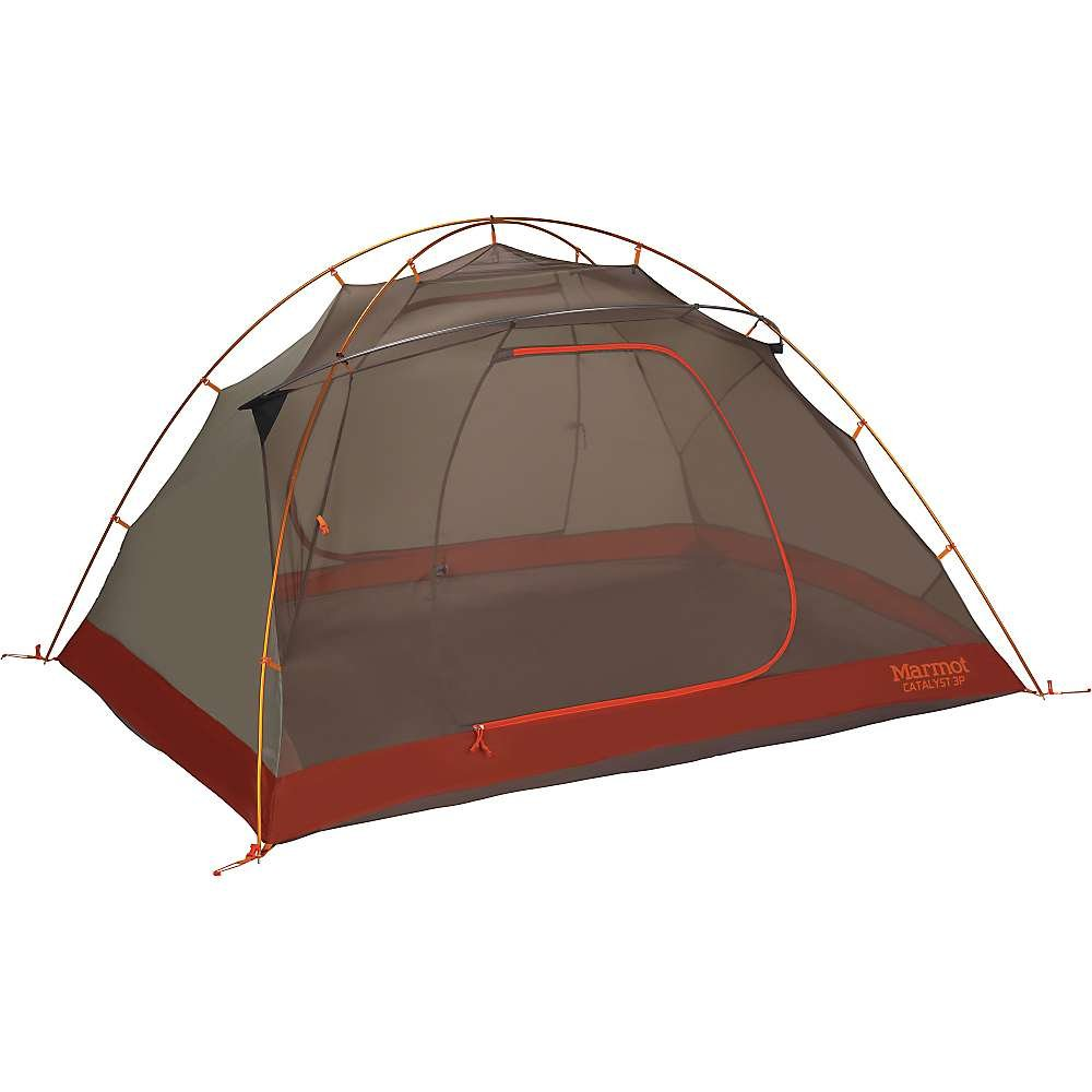Marmot Unisex Catalyst 3P Tent Rusted Orange/Cinder Tent One Size