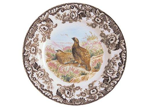 Spode Woodland Red Grouse Dinner Plate