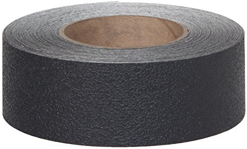 Safe Way Traction 2'' X 12' Foot Roll of Black Resilient Rubberized Anti Slip Non Skid Safety Tape 3510-2-12 by Safe Way Traction