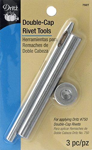 Dritz 750T Double-Cap Rivet Tools Metal