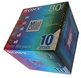 Sony 80-min miniDisc 10-Pack