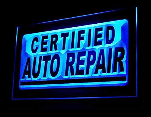 (Certified Auto Repair Motor Services Led Light)