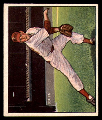 Baseball MLB 1950 Bowman #32 Robin Roberts EX Phillies