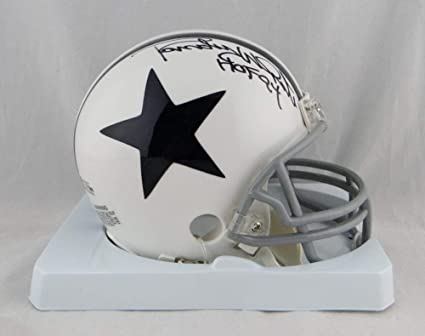 Image Unavailable. Image not available for. Color  Randy White Autographed  Dallas Cowboys White TB Mini Helmet ... b04cd9858