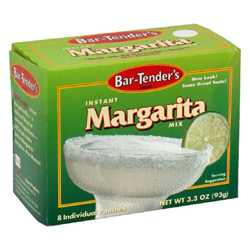 Bar-Tender's Instant Margarita Mix, 8-Count 3.3-Ounce Boxes (Pack of 12) by Bar-Tender's
