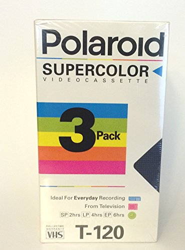 Polaroid Supercolor Videocassette 3 Pack by Polaroid