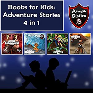 Books for Kids: Children's Diaries with Action and Adventure Audiobook