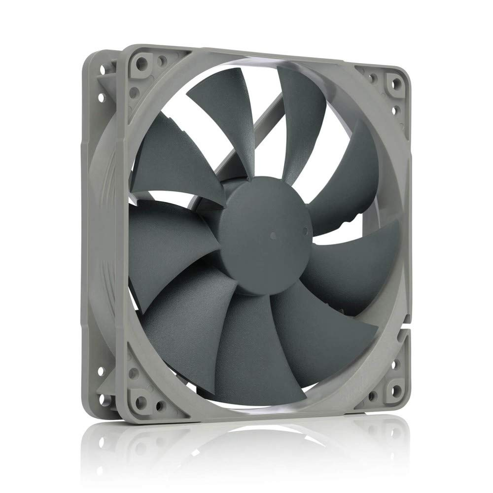 Noctua NF-P12 redux-1700 PWM high-Performance Quiet 120mm Fan, Ideal for PC Cases, CPU heatsinks and Water Cooling radiators, Award-Winning Premium Model in Affordable Grey Redux Edition