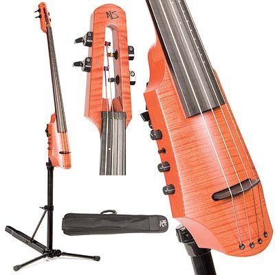 NS Design CR4 Electric 4-String Cello With Amber Finish by NS Design