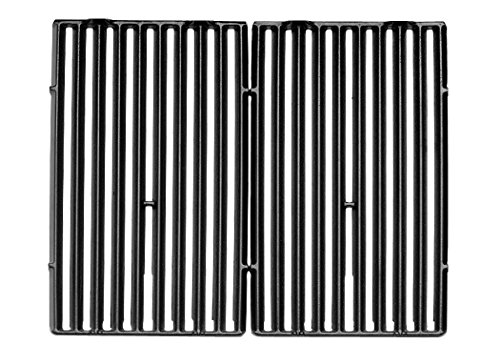 - Broil King 11228 Cast Iron Cooking Grids, 15 by 12.75-Inch