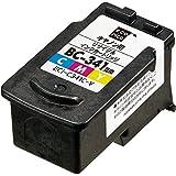 エコリカ キャノン(Canon)対応 リサイクル インクカートリッジ 3色カラー BC-341C ECI-C341C-V