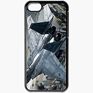 Personalized iPhone 5C Cell phone Case/Cover Skin Ace Combat Black