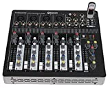 STARAUDIO SMX-6000B Pro PA DJ Stage Club Party Karaoke 6 Channel Pure Mixer Mixing Console W/ USB Bluetooth MP3 Player