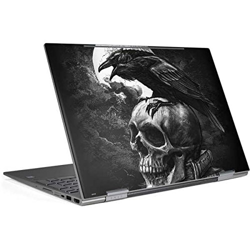 Skinit Skull & Bones Envy x360 15t (2018) Skin - Alchemy - Poe's Raven Design - Ultra Thin, Lightweight Vinyl Decal Protection by Skinit