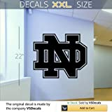 NCAA Notre Dame Fighting Irish Gym Sports Logo Wall Mural Vinyl Sticker DA3109