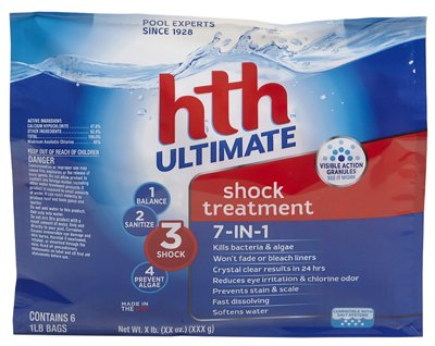 Arch Chemical HTH 52014 6 Count Ultimate Shock Treatment,...
