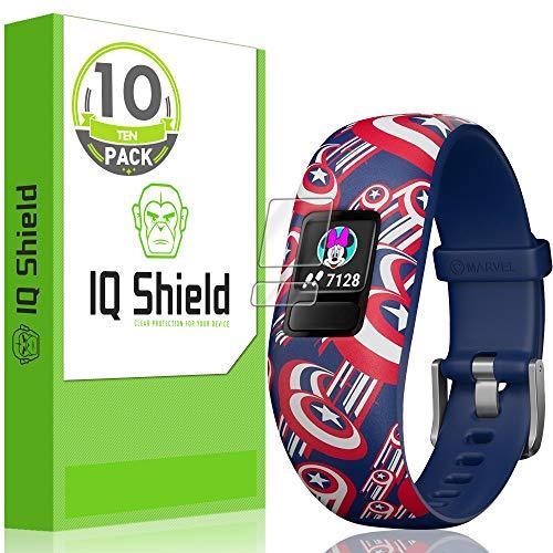 IQShield Garmin Vívofit Jr. 2 Screen Protector (10-Pack), LiQuidSkin Full Coverage Screen Protector for Garmin Vívofit Jr. 2 HD Clear Anti-Bubble Film
